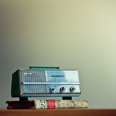 Retro Vintage Radio   Flickr - Photo Sharing!