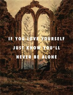 Look, think about it, close your eyes, dream about itThe Dreamer (Ruins of the Oybin Monastery) (1835), Caspar David Friedrich / One Man Can Change The World ft. Kanye West, John Legend, Big Sean