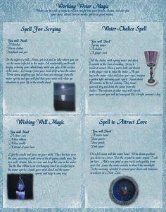 Elemental Magick | Water Magick - Spellwork