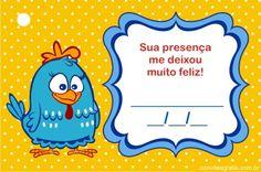 Tag Lembrança Galinha Pintadinha