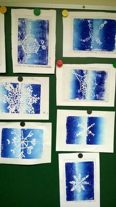 Lumihiutalegrafiikkaa
