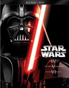 Star Wars Trilogy: Episodes IV-VI [6 Discs] [Blu-ray/DVD] - Front_Standard