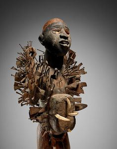 Kongo-Yombe Power Figure, Democratic Republic of the Congo Royal Academy Of Arts, Republic Of The Congo, African Art, Occult, Lion Sculpture, Auction, Statue, Fine Art, October 10