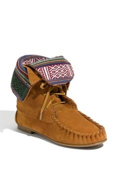 Native American Moccasin Boots by mignacca2009