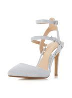 Womens *Head Over Heels by Dune Silver 'Cadi' High Heel Sandals- Silver