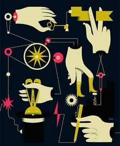 illustration / january-june 13 by iv orlov, via Behance
