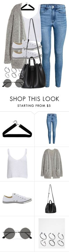 """""""Style #11577"""" by vany-alvarado ❤ liked on Polyvore featuring Boohoo, Converse, Yves Saint Laurent and ASOS"""