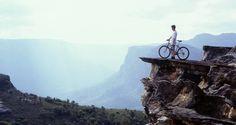 Mountain biking in awesome terrain