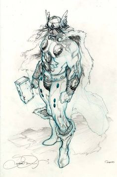 Thor by Simone Bianchi *