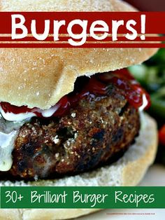 30+ brilliant burgers from beef and lamb to fish, chicken and bean @Maaike Boven make lists ... #food #recipes