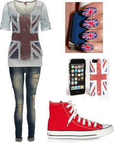 """""""Another British outfit"""" by for-the-love-of-music ❤ liked on Polyvore"""