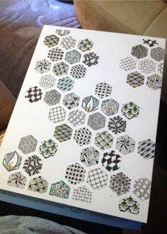 Zentangle Hexagons 1 - Gwen Lafleur