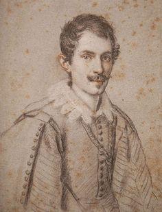 Giovan Lorenzo Bernini portrayed by Ottavio Leoni. www.italianways.com/artists-of-baroque-rome-in-the-eye-of-ottavio-leoni/