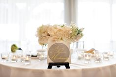 SHANNON+RANDY table signs & table numbers