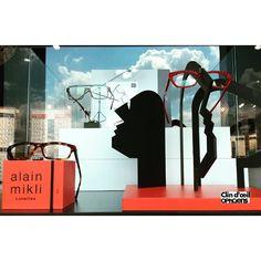 ALAIN MIKLI est Picasso: une nouvelle vitrine destructurée pour un style décalé chez tous les opticiens Clin d'œil.  @champigny on aime l'originalité !  #tagsforlikes #alainmikli #lunettes #picasso #clindoeilopticiens #glasses #specs #champigny #zoneikea #champea #champagneardenne #originalité