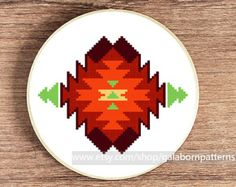 Modern cross stitch PDF Counted cross stitch by galabornpatterns