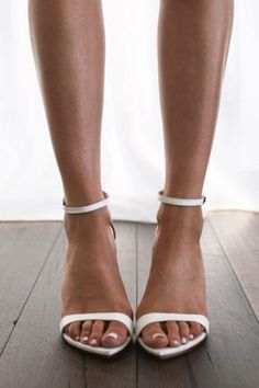 Designed with comfort and luxury in mind, our Dosa white heels have been made with the most luxurious buttery soft leather and a cushioned insole. Indie Wedding Dress, Bohemian Wedding Reception, Unique Wedding Shoes, Unique Weddings, Dream Wedding, Natalie Marie Jewellery, Lace Bride, Grace Loves Lace, White Heels