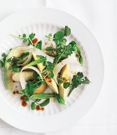 Pear, Avocado and Watercress Salad