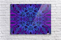 Mystic In Blue Acrylic Print