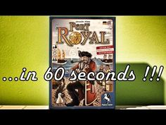 Port Royal - Brettspiel Vorstellung in 60 Sekunden - Board Game Roundup in 60s - YouTube