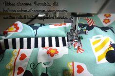 Kummilahja vol.2 + DIY Nappilista huppariin - Punatukka ja kaksi karhua Vol 2, Diy, Bricolage, Do It Yourself, Homemade, Diys, Crafting