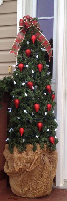 Tomato cage Christmas Tree