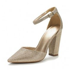 16e56fcb671 DREAM PAIRS COCO New Women s Evening Dress Low Heel Ankle Strap... ❤ liked
