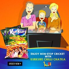 Get the chatka with the relishable taste of #KurkureChilliChatka Namkeen ! http://ow.ly/LK1DN