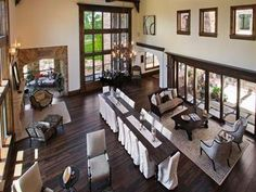 Gorgeous floors and wood finishes