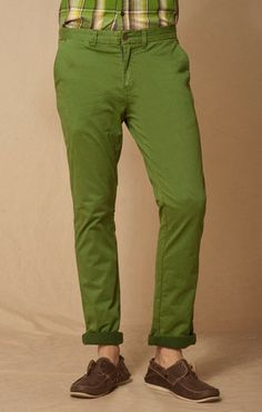 CACTUS TROUSER POCKET STRETCH CHINO     BOWIE- STRAIGHT FIT 14.5 INCH LEG OPENING