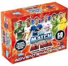 Match Attax Adventskalender 2013/2014