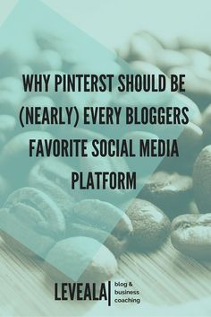 Here are some of the reasons why pinterest is the fastest growing social media platform for bloggers. leveala.com