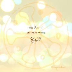 As-Sami'      #asmaulhusna