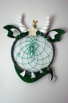 Dragon dream catcher dinosaur dream catcher nursery/bedroom