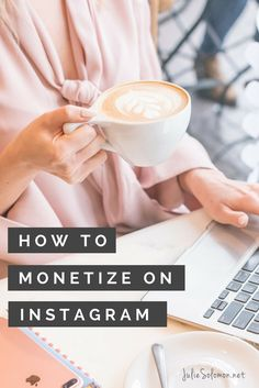 """How To Make Money On Instagram + A Free Worksheet """"You have to network, engage and then convert"""" Julie Solomon Publicist."""