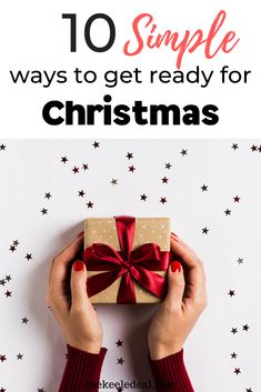 10 simple ways to get ready for Christmas right now. Why wait until this fall to start thinking about Christmas? Start planning and getting ready now for the best Christmas ever. Family Christmas, Christmas Photos, Christmas Crafts, Christmas Decorations, Get Ready, Christmas Traditions, Simple Way, Gift Wrapping, How To Get