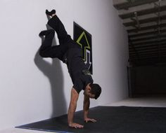 Yeah, it's a bold statement, but hear me out. The mechanics of successfully performing a handstand will amp up all of your other exercise endeavors, making you stronger, more stable, and better coordinated, while the discipline required to master the move will make you a better human being overall. It will force you to take…