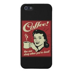 Vintage Coffee Advertising Art Poster iPhone 5/5s Cases For iPhone 5