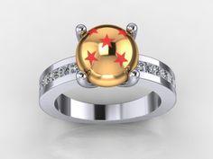 Dragon ball wedding ring