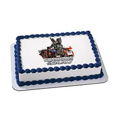 Marvel's Guardians of the Galaxy Unite EDIBLE Image Cake Cupcake Topper Personalized LICENSED
