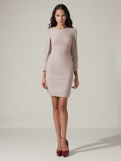 great for the office ~ zac posen wool suiting dress!!!