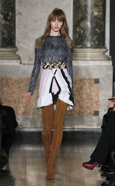 Emilio Pucci Fall Winter 2013-14.  How incredible is this look?  Visit the Emilio Pucci store in the Miami Design District to purchase ready to wear items.