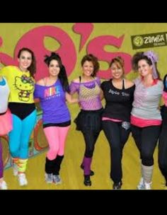 80s Fashion For Women Neon Colors s theme party ideas