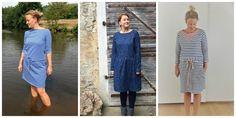 12 Colours of Handmade Fashion, mojoanma, Tweed&Greet, Kleider, Genäht