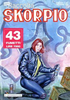 Fumetti EDITORIALE AUREA, Collana SKORPIO RACCOLTA n°307 DECEMBRE 1999