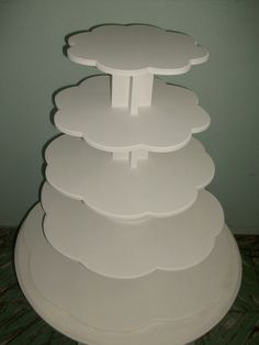 Torre De Cinco Bases Para Cupcakes, Muffins - $ 300,00 en MercadoLibre
