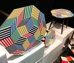 Collection table Penrose  Ich&Kar pour Bazartherapy- Maison et Objet Janvier 2015
