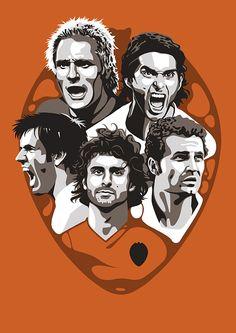 """VCF Legends"" by Lawerta #Valencia #Cañizares #Ayala #Albelda #Baraja #Aimar #Football #Soccer #Fútbol"