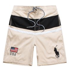 Ralph Lauren short Pants for men Private Brand, People Online, Ralph Lauren Shorts, Beachwear, Swimwear, Summer Shorts, Jean Outfits, Brand New, Handbags