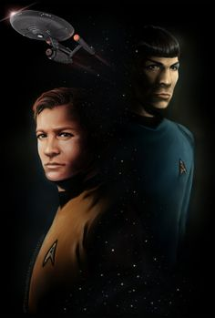 A t-shirt design featuring the classic Star Trek crew. This involved a lot of cutting, color correction, and a few other Photoshop tricks. This has been a very good seller since its creation.